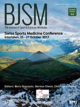 British Journal of Sports Medicine: 51 (18)