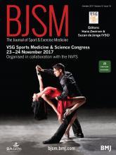 British Journal of Sports Medicine: 51 (19)