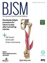 British Journal of Sports Medicine: 51 (22)