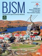 British Journal of Sports Medicine: 51 (8)