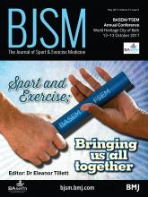 British Journal of Sports Medicine: 51 (9)