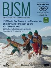 British Journal of Sports Medicine: 52 (11)