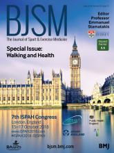 British Journal of Sports Medicine: 52 (12)