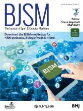 British Journal of Sports Medicine: 52 (13)
