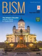 British Journal of Sports Medicine: 52 (2)