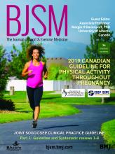 British Journal of Sports Medicine: 52 (21)