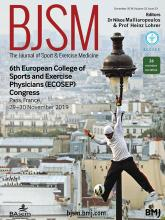 British Journal of Sports Medicine: 52 (23)