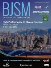 British Journal of Sports Medicine: 52 (24)