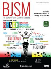 British Journal of Sports Medicine: 52 (3)