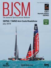 British Journal of Sports Medicine: 52 (6)