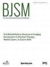 British Journal of Sports Medicine: 52 (Suppl 2)