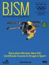 British Journal of Sports Medicine: 53 (1)