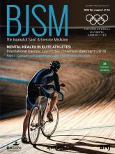 British Journal of Sports Medicine: 53 (11)