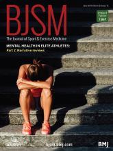 British Journal of Sports Medicine: 53 (12)