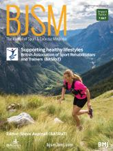 British Journal of Sports Medicine: 53 (14)
