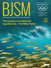 British Journal of Sports Medicine: 53 (17)