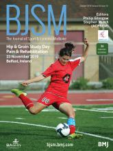 British Journal of Sports Medicine: 53 (19)