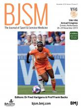 British Journal of Sports Medicine: 53 (21)