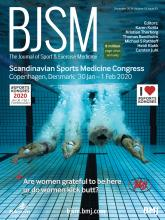 British Journal of Sports Medicine: 53 (23)