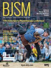 British Journal of Sports Medicine: 53 (9)