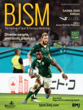 British Journal of Sports Medicine: 54 (10)