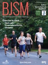British Journal of Sports Medicine: 54 (13)