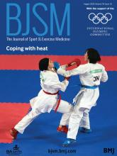 British Journal of Sports Medicine: 54 (16)