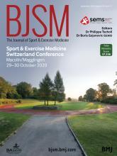 British Journal of Sports Medicine: 54 (17)