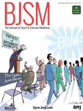 British Journal of Sports Medicine: 54 (22)