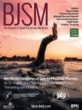 British Journal of Sports Medicine: 54 (23)