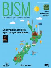British Journal of Sports Medicine: 54 (5)