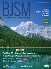 British Journal of Sports Medicine: 54 (6)