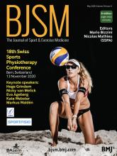 British Journal of Sports Medicine: 54 (9)