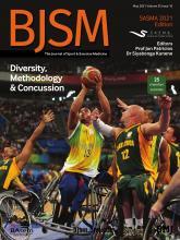 British Journal of Sports Medicine: 55 (10)
