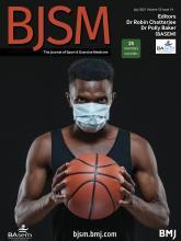 British Journal of Sports Medicine: 55 (14)
