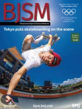 British Journal of Sports Medicine: 55 (15)