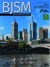 British Journal of Sports Medicine: 55 (16)