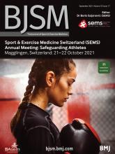 British Journal of Sports Medicine: 55 (17)