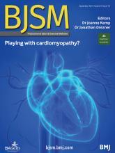 British Journal of Sports Medicine: 55 (18)