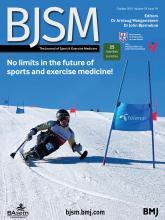 British Journal of Sports Medicine: 55 (19)