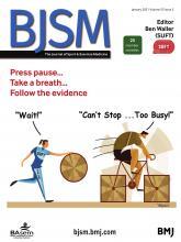 British Journal of Sports Medicine: 55 (2)