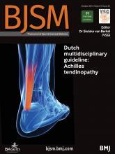 British Journal of Sports Medicine: 55 (20)