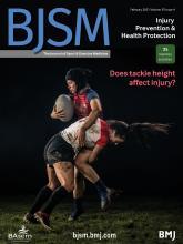 British Journal of Sports Medicine: 55 (4)