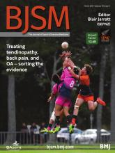 British Journal of Sports Medicine: 55 (5)