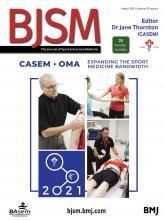 British Journal of Sports Medicine: 55 (6)