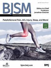 British Journal of Sports Medicine: 55 (7)